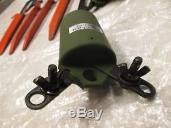 MILITARY HF DIPOLE ANTENNA KIT withBALUN +TRAPS +BAG +ROPE NEEDS WIRE ham radio