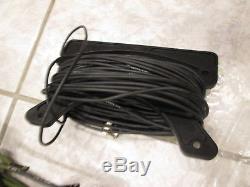MILITARY HF DIPOLE ANTENNA KIT withBALUN +TRAPS +BAG +ROPE NEEDS WIRE ham radio