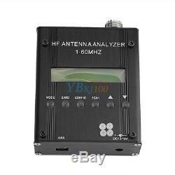 MR300 1-60M Digital Shortwave Antenna Analyzer HF ANT Tester Meter F Ham Radio G