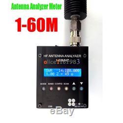 MR300 Bluetooth Digital Shortwave Antenna Analyzer Meter Tester 1-60M Ham Radio