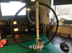 Magnetic Loop Antenna UK MADE 6 BAND 20-17-15-12-11/10 METERS