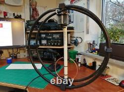 Magnetic Loop Antenna UK MADE 8 BAND Camping antenna QRP 40-10 metres