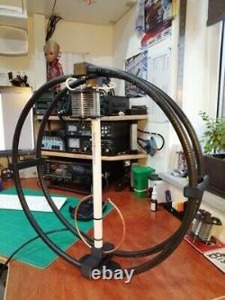 Magnetic Loop Antenna UK MADE 8 BAND Camping antenna QRP 40-10 metres BUNDLE