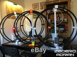 Magnetic Loop Antenna UK MADE QUAD BAND Camping antenna QRP Antenna 40-30-20-17