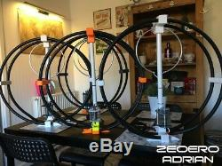 Magnetic Loop Antenna UK MADE QUAD BAND MOTORISED BUNDLE inc. Free pole mount