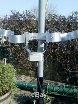 Magnetic loop high power fractal original GM0SDV design 40 trough 18 meters band
