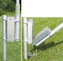 Mfj-1903 Universal Tilt Over Base For Vertical Hf/ Antennas Ham/ Cb/ 2 Way