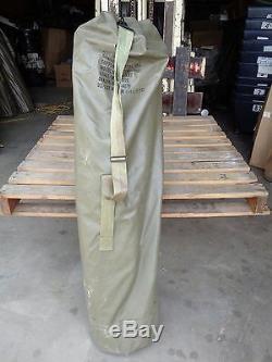 Military Used Ribbed 4' Aluminum Antenna Tower Mast Section Economy Mast Kit V1c