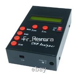 Mini HF ANT SWR Antenna Analyzer Meter For SARK100 Ham Radio Hobbists 1-60MHz