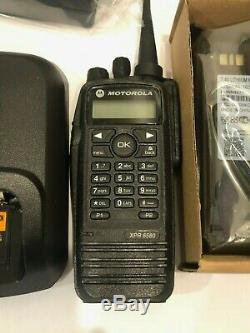 Motorola XPR6580 900MHz 33cm HAM RADIO ANALOG / DMR BODY And Antenna Programmng