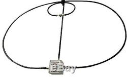 NEW Design! 100 Watt 10-40M Magnetic Alpha Loop Antenna