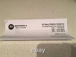 NEW Motorola AN000131A01 All-Band VHF-UHF 700/800Mhz Mobile Antenna