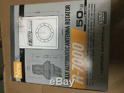 NIPPON R-7000 ROTOR ANTENNA ROTATOR + CONTROL CONTROLLER 110v 220 v