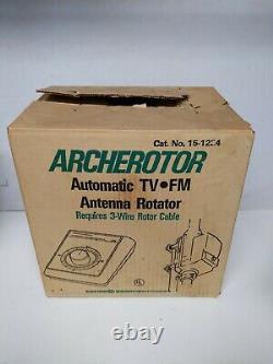 NOS Archerotor West Germany Radio Shack 15-1224 Antenna Rotor NIB NEW Vtg Tandy
