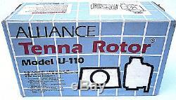 New Factory Sealed Nos Alliance Tenna Ham Radio Tv Antenna Rotor Rotator U-110