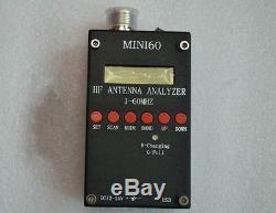 New Mini60 sark100 HF ANT SWR Antenna Analyzer Meter For Ham Radio Hobbists
