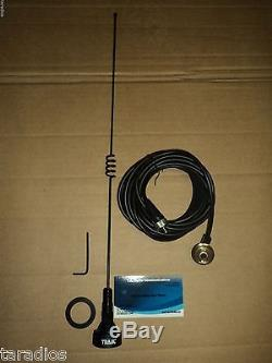 Long Distance Amateur Dual-Band Marine NMO Antenna VHF 140-170 /& UHF 430-470 MHz for Mobile Radios 2 Meter 70 Centimeters w//PL-259 UHF Mount BR-179 1250