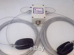 Off Centre Fed Dipole Windom Style Antenna 80-6m Bands Hf Antenna Atu 41 Balun