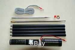 PAC-12 7MHz-50MHz 100W Multi Band HF Shortwave GP Antenna QRP For Ham Radio