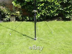 PREMIUM DX Commander Amateur Radio ALL BAND Vertical HF Antenna Portable Use