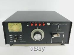 Palstar AT1500DT Ham Radio Manual Roller Inductor Antenna Tuner (works great)