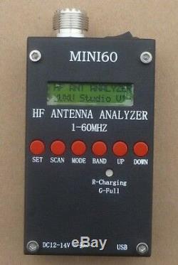 Pro Mini HF ANT SWR Antenna Analyzer NIN160 Meter For sark100 Ham Radio Hobbists