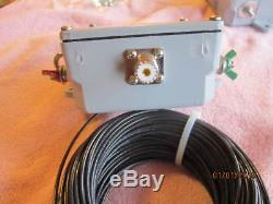 QSO-KING - End Fed Multi-band Antenna - 160-6 meters - Rated 650 W. PEP