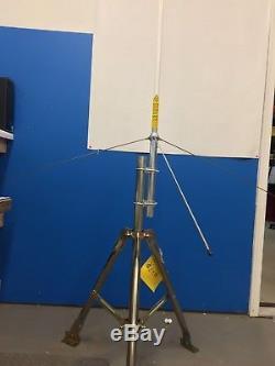 Quad Band Base Antenna 29/52/146/444 Mhz Fiberglass 100 Watt Ham Radio Hi Gain