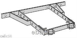 ROHN HB25CG 0 36 House Bracket Assembly Adjustable New! OEM