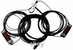 RadioWavz eG5RV Lite Multi-Band 80 6 Meters (Requires Tuner) Antenna, 67' Long
