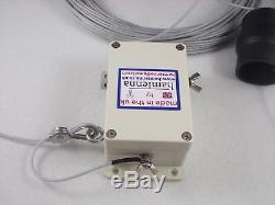 Resonant end fed antenna 80-10m no atu hf antenna 800w pep 8 bands