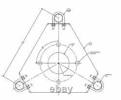 Rohn AS25GTB Thrust Bearing/Rotor Shelf