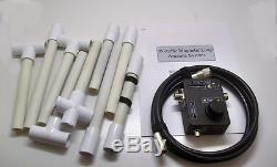 SALE! High Performance HF EMCOMM/Ham/SWL 3-15mhz 80-20m Magnetic Loop Antenna