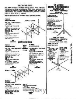 SKIP JACK 10/11 meter Base Antenna