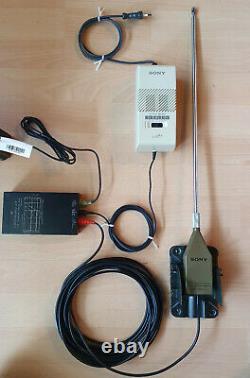 SONY AN-1 Aktivantenne, LW / MW / SW, 150kHz 30MHz, Wide Range Antenna #780