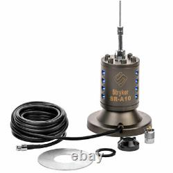 STRYKER SR-A10MM MAGNETIC MOUNT CB 10 METER HAM RADIO ANTENNA 10kW MOBILE NEW