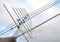 Satellite HAM antenna yagi antenna 430-440 143-146MHZ 11db amateur radio antenna