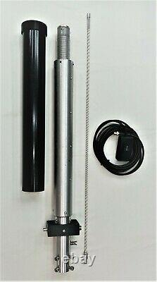 Screwdriver antenna portable remote tunable from 7Mhz to 50 Mhz