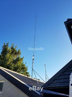 Se-hf-x80 Vertical Radial Free Antenna 80 To 6 Metres