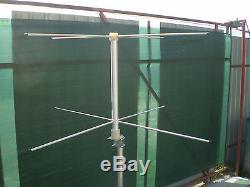 Set of 2 antennas turnstile crossed dipole RHCP 2m and 70cm