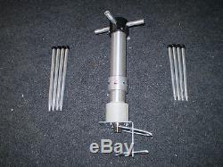 Set of 2 antennas turnstile crossed dipole RHCP 2m and 70cm N connector