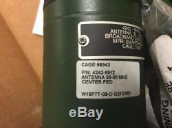 Shakespear Military Antenna 4242-MK2 Center FED 9.8 VHF