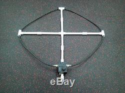 SignaLoop High Performance EMCOMM/Ham/SWL 3-19mhz 80-17m Magnetic Loop Antenna