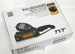 TYT TH-9000D 45W Mobile 400-470 MHz Ham/GMRS Mobile Radio and 5/8 Wave Antenna