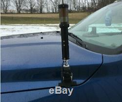 Tarheel Antennas Baby Tarheel Mobile Screwdriver Antenna 7 54 MHz, Black