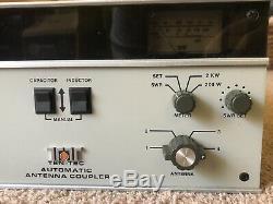 Ten Tec Model 253 Automatic Antenna Coupler Tuner Ham Radio LOOK! USA