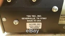 Ten Tec Model 253 Automatic Antenna Coupler Tuner omni C MY OTHER HAM RADIO eBAY