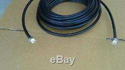 Times Microwave LMR-400 Ham Radio LMR Antenna PL259 to PL259 coax cable 100FT