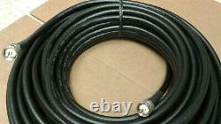 US MADE LMR-400 Ham Radio LMR Antenna PL259 to PL259 coax cable 100 FT