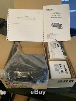 Used Yaesu FT-817ND HF/VHF/UHF 5 Watt Ham Radio with Two Antennas, All Acce